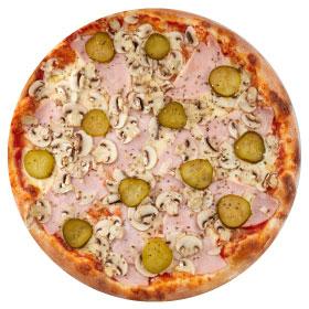 "Пицца ""Народная"" 26 см на тонком тесте"