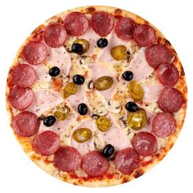 """Пицца """"Особенная"""" 26 см на тонком тесте"""